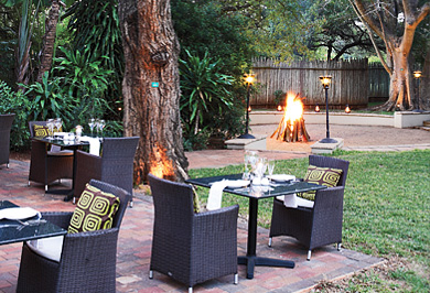 Ghost Mountain Inn Bon fire Dining Hotel Mkuze Northern KwaZulu-Natal South Africa