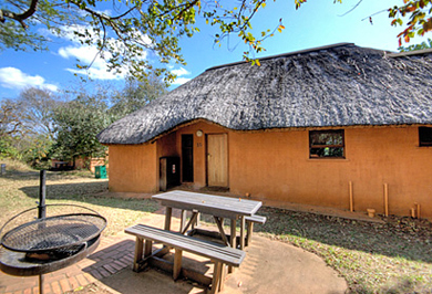 Guided Safaris Tours 2 Bed Chalet Accommodation Hluhluwe iMfolozi uMfolozi Park Hilltop Camp Big 5 South Africa