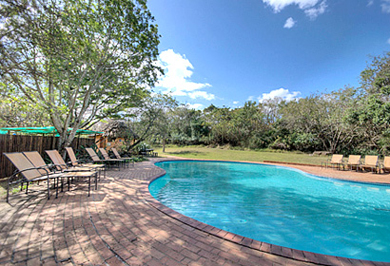 Hilltop Camp Swimming Pool Big 5 Hluhluwe iMfolozi uMfolozi Park KwaZulu-Natal South Africa