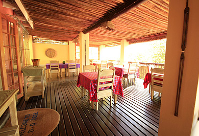 Lidiko Lodge Patio Lake St Lucia Estuary Bed & Breakfast B&B KwaZulu-Natal South Africa