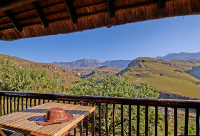Guided Safaris Tours Giants Castle Camp Two Bed Mountain View Chalet Drakensberg KwaZulu-Natal South Africa